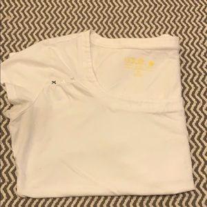 LOLË square neck t-shirt